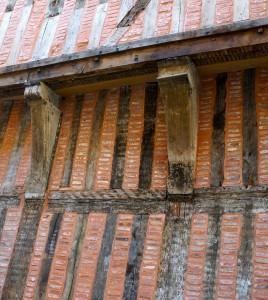 brique champenoise dans la région de Troyes
