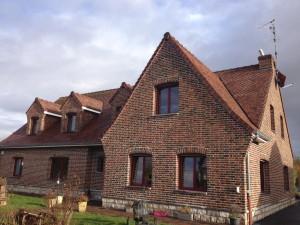 maison en briques surcuites